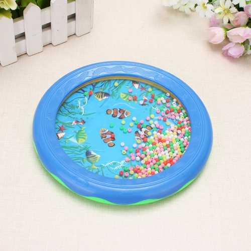 Educational Toys Sea Drum Ocean Wave Drum Gentle Sea Sound Toys