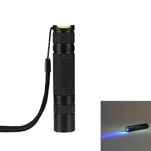 Nichia 3W 365nm UV High Power LED Flashlight 1 x 18650