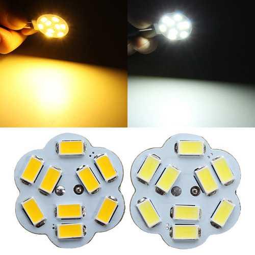 G4 2W White/Warm White 9 SMD 5730 LED Light Lamp Bulb 12V