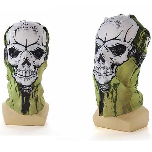 2pcs Skull CS Headscarf Cycling Face Guard Masks Scarves