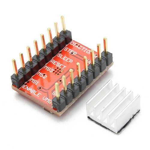 3Pcs Geekcreit® 3D Printer A4988 Reprap Stepping Stepper Step Motor Driver Module