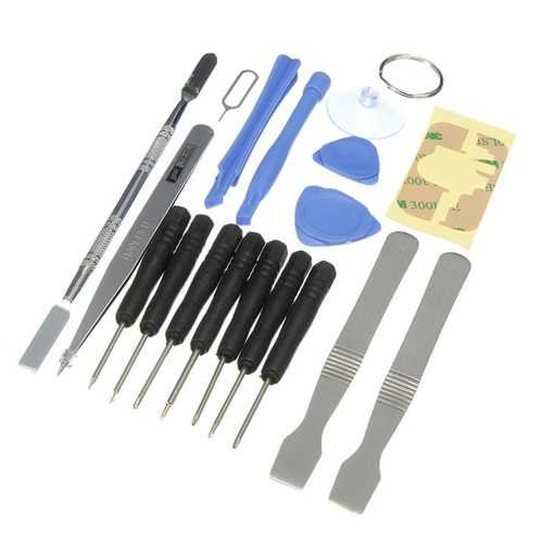 18in1 Cell Phone Kits Sucker Pry Screwdriver Repairtools