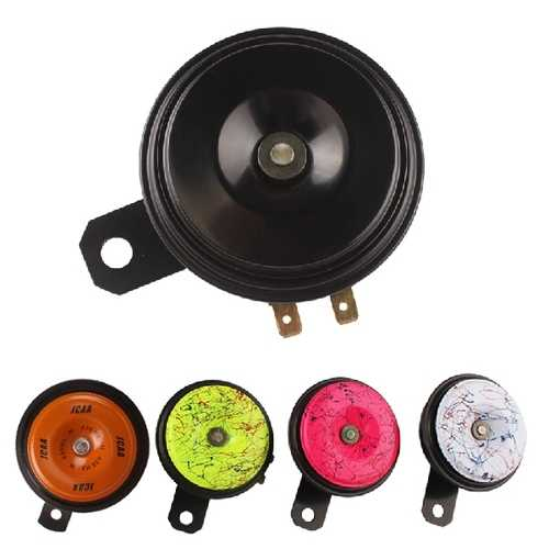 Waterproof Tweeter 115db Motorcycle 5 Color Snail Horn Loudspeaker