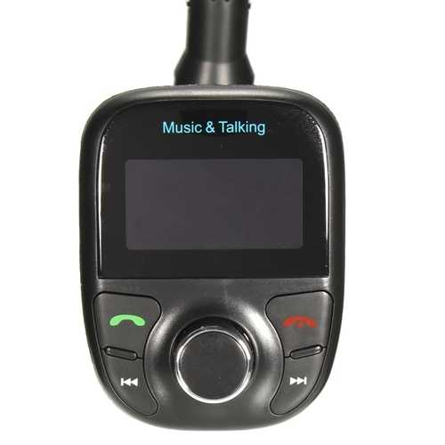 Car Kit Hands Free MP3 Play FM Transimittervs Lcd Display USB TF