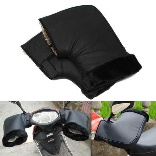 Waterproof Motorcycle Winter Warm Protective Handlebar Muffs Gloves