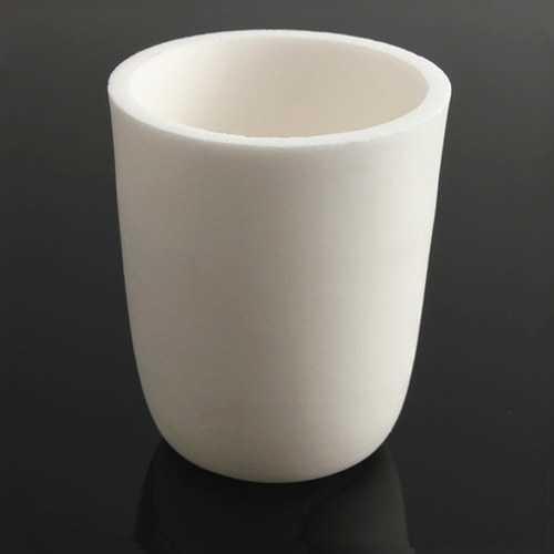 30ml 99%AlO High Purity Conical Corundum Crucible Melting Pot
