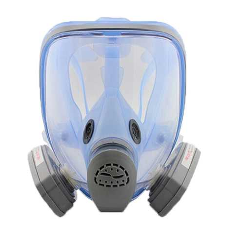 9900A Silicone Gas Mask Full Face Antivirus Respirator