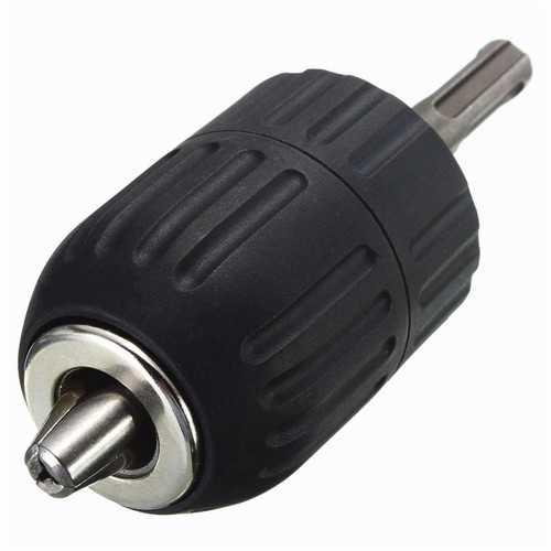 Drillpro 1/2-20UNF Mount 2-13mm Self Locking Keyless Drill Chuck with 1/2 SDS Adaptor