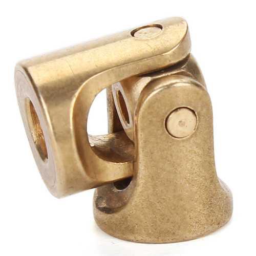 Micro Metal Universal Joint  DIY Simulation Car /Boat1:24/1:18/M3*3 Copper