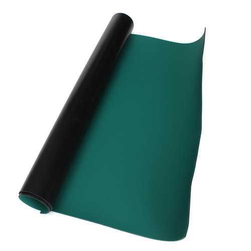 50x60cm Green Desktop Anti Static ESD Grouding Mat For Electronics Repair