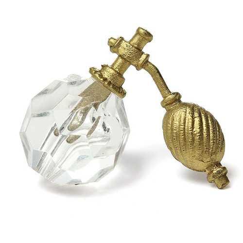 1/12 Dollhouse Miniature Bathroom Bedroom Transparent Perfume Bottle