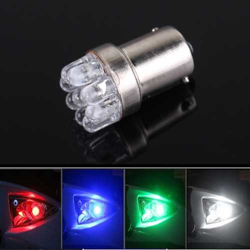 9 LED 4 Colors Motorcycle Turn Signal Lights Decoration Lights
