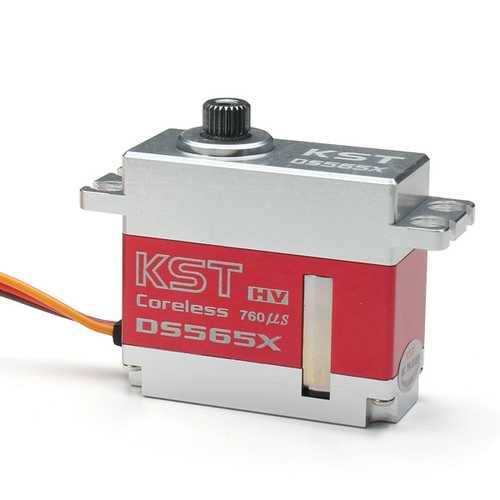 KST DS565X Metal Coreless Digital Servo for 450-500 RC Helicopter