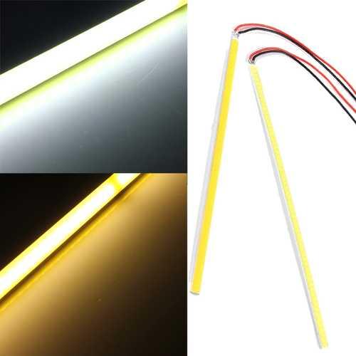 12V 5W COB 60 LED Chip Driving DRL Daytime Running Light Lamp Bar Strip