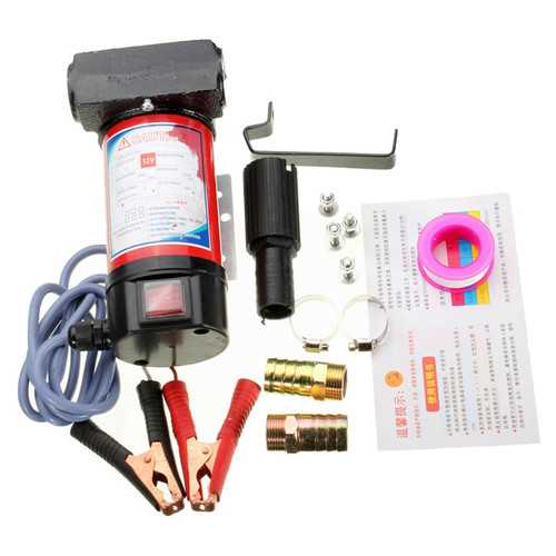 12V 40L/Min 175W Portable Electric Fuel Diesel Pump Oil Kerosene Pump Transfer