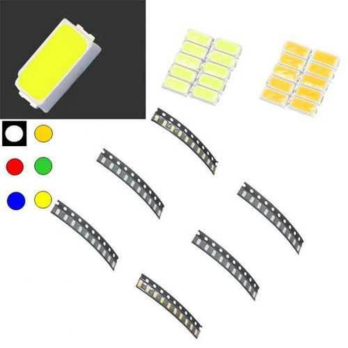 10 pcs 3014 Colorful SMD SMT LED Light Lamp Beads For Strip Lights
