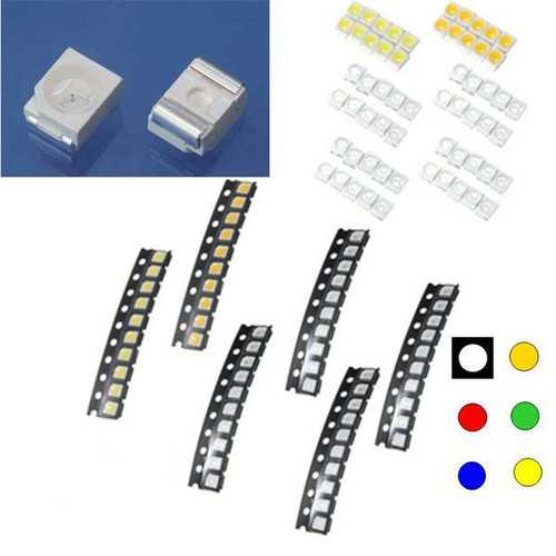 10 pcs 1210/3528 Colorful SMD SMT LED Light Lamp Beads For Strip Lights