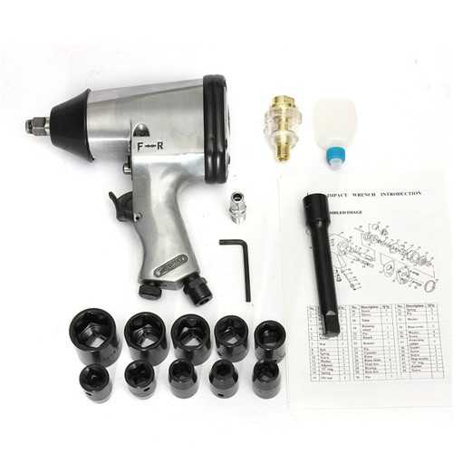 1/2 Inch Drive Air Impact Wrench Impact Wrench Air Tools