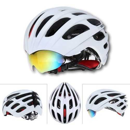 Bike Bicycle Cycling Riding Helmet MTB Riding Helmet With 3 Goggles