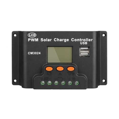 LCD 30A PWM Solar Panel Regulator Charge Controller 12V/24V 360W/720W