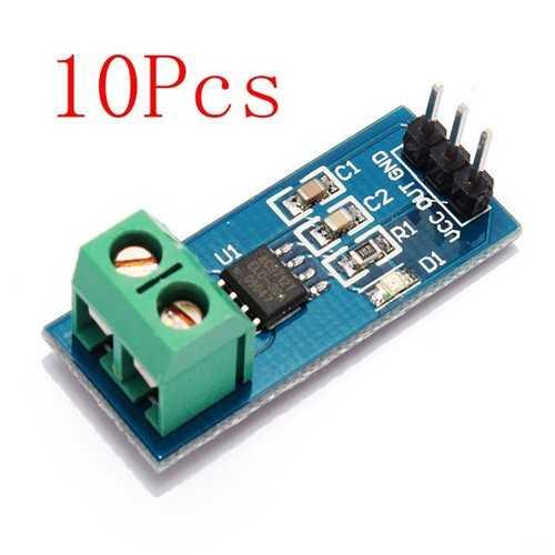 10Pcs 5V 30A ACS712 Range Current Sensor Module Board For Arduino