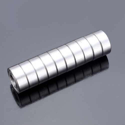 10pcs 6x13x5mm Steel Sealed Shielded Deep Groove Ball Bearings 686zz
