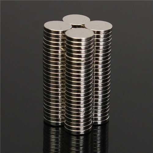 100pcs N52 6x1mm Disc Neodymium Magnet Strong Rare Earth Small Fridge Magnets