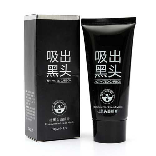 Deep Clean Activated Charcoal Blackhead Remover Facial Peel Off Mask