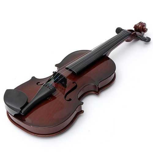 4/4 Ukuran Penuh Plastic Adjustable String Kids Instrument Simulation Violin Toys