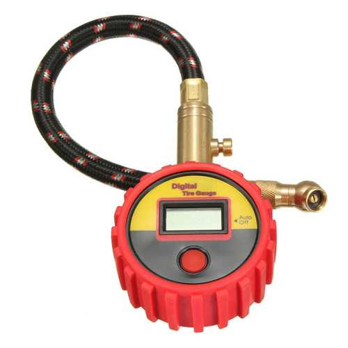 0-99psi Bar Kpa Digital Tire Gauge Type Pressure Gauge Motorcycle Car