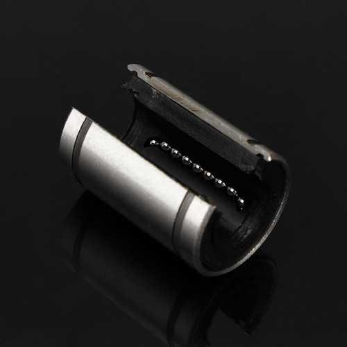 LM12UUOP 12x21x30mm Open Type Linear Motion Ball Bearing Bush Bushing for CNC DIY