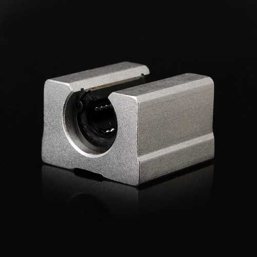 Machifit SBR12UU Linear Bearing 12mm Open Block Linear Bearing Slide CNC Router Linear Slide