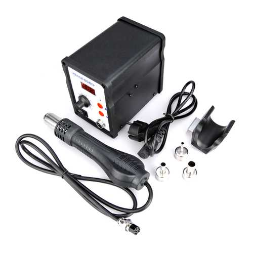 YOUYUE 858D 220V 700W ESD Soldering Station LED Digital SMD Solder Blowser