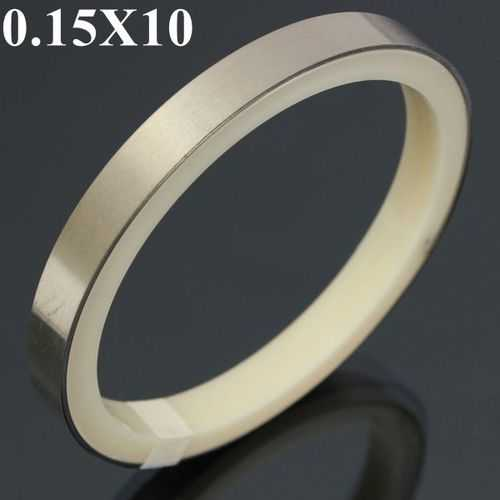 0.15X10X200mm Nickel Plated Steel Sheet Strap Tape Strip For Battery Spot Welding