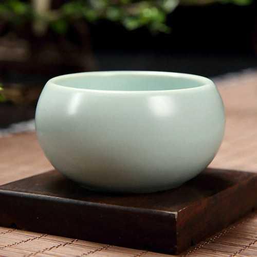 55ml Ru kiln Tea Cup Opusculum Ceramic Kung Fu Tea Cup