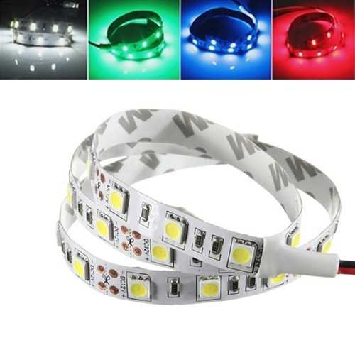 50CM SMD 5050 Non-Waterproof LED Flexible Strip Light PC Computer Case Adhesive Lamp