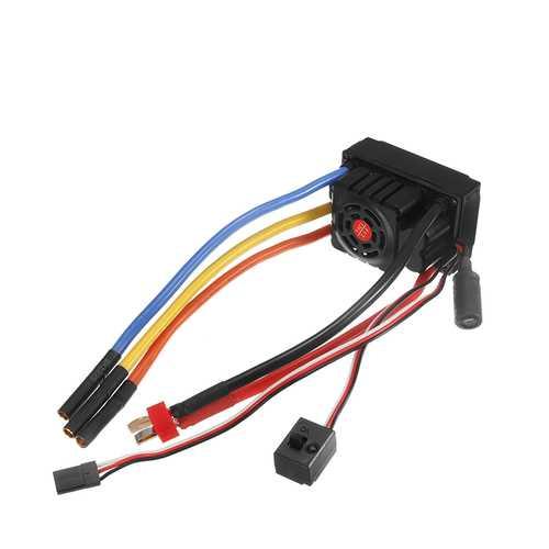 FVT 120A Waterproof Brushless Sensorless ESC For 1/8 1/10 RC Car Skateboard ESC