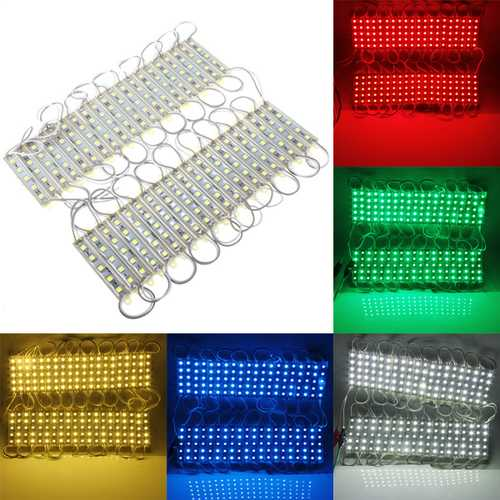 LED 200 SMD 5050 Module Light Waterproof Hard Strip Bar Light Lamp 12V