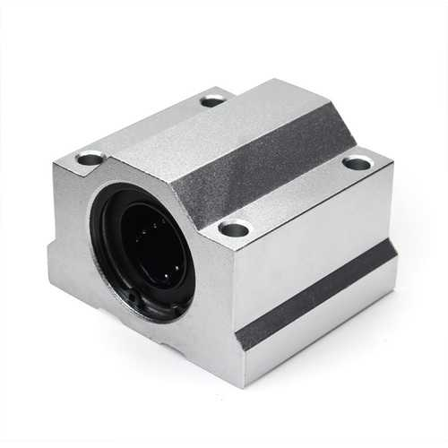 Machifit SC25UU 25mm Linear Axis Ball Bearing Block Motion Slide Bearing Block for CNC Part