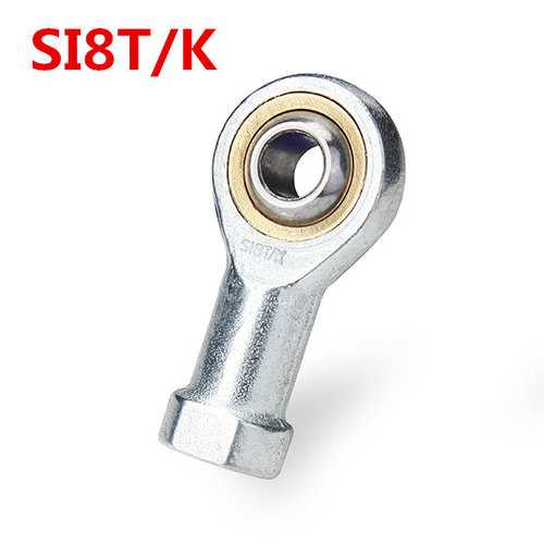 8mm SI8T/K Female Thread Rod End Joint Bearing Metric Thread Spherical Oscillating Bearing