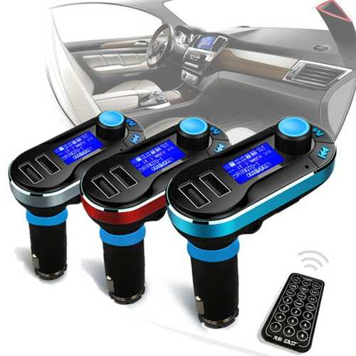 Hands Free Car Kit Wireless Radio Audio FM Transimittervs MP3 Player