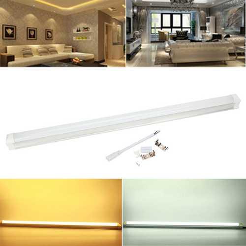 T8 60CM 9W White Warm White LED Rigid Strip Tube Light AC 165-265V