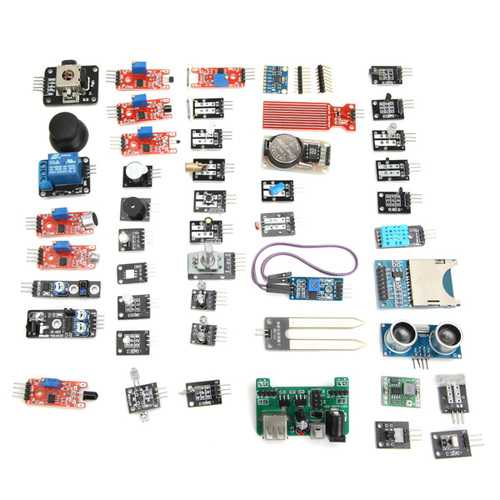 Geekcreit® 45 In 1 Sensor Module Board Kit Upgrade Version For Arduino Carton Box Package