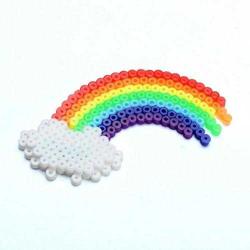 1000pcs 2.6mm Mini Soft Iron Hama Beads Fuse Beads Kid DIY Toy