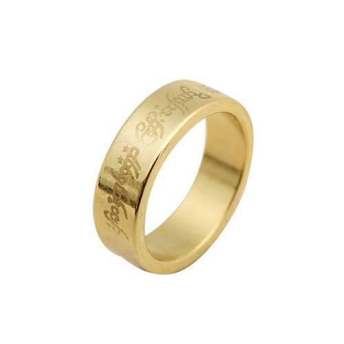 Kingmagic Hardcover Golden Magician Magnetic Ring Stainless Steel Magic Prop