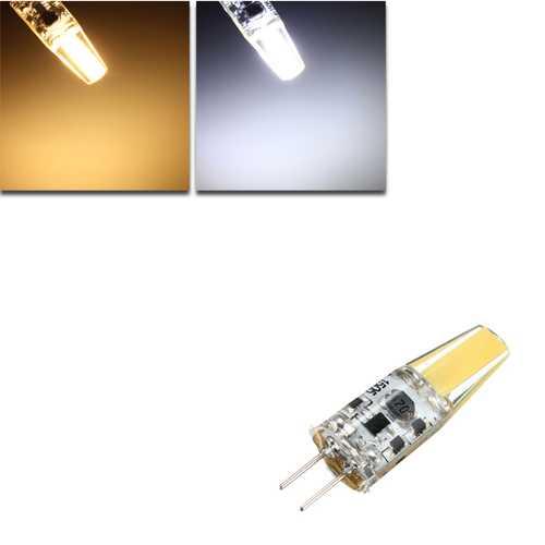 G4 2W COB Filament LED Spotlight Bulb Lamp Warm/Pure White AC/DC 10-20V