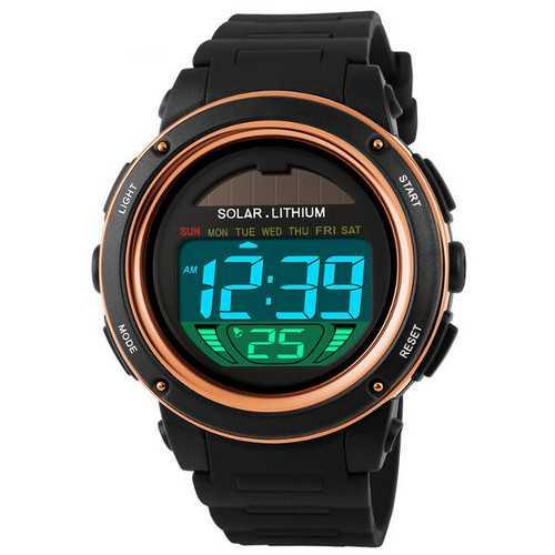 SKMEI 1096 LED Date Chronograph Waterproof Men Sport Watch