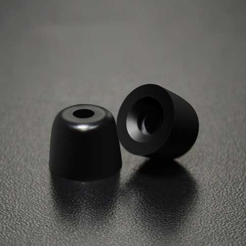 KZ One Pair In-ear Silica Gel Ear Muffs Earplug Cover For In-ear Earphone