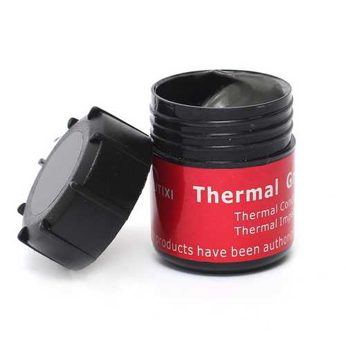 1PC Compound Heat Sink Thermal Grease Tin 20g For PC CPU Radiator Cooling