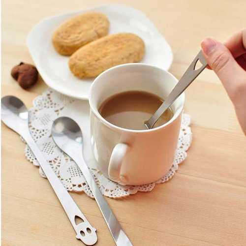 Stainless Steel Smile Face Coffee Spoon Tea Spoon Kitchen Tools